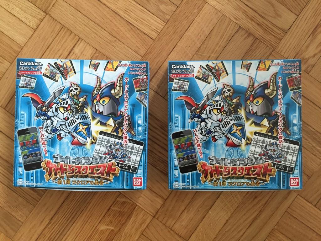 Les deux booster boxes
