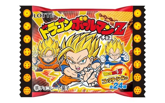 Gaufrettes Dragon Ball Man Choco Z
