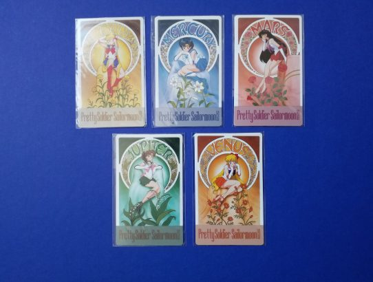 Sailor Moon R Floral Cards par Amada