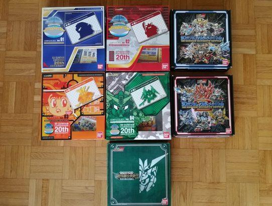 Complete Boxes SD Gundam