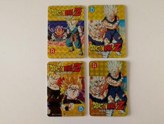 Changing Cards Dragon Ball Z prismes