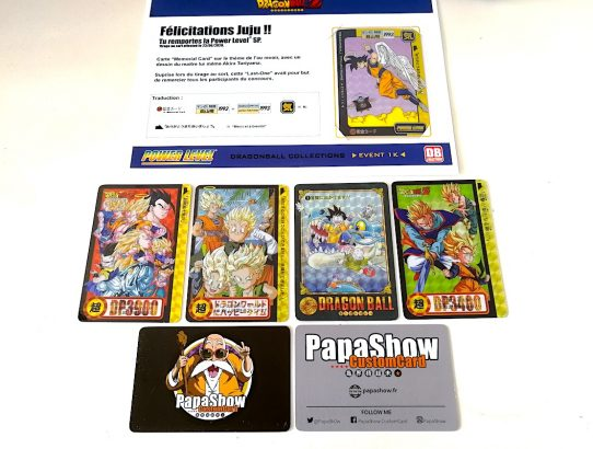 Custom Cards de PapaSh0w