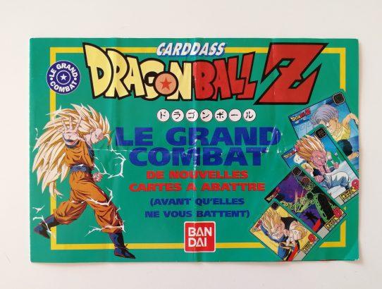 Livret des règles Carddass Le Grand Combat Dragon Ball Z