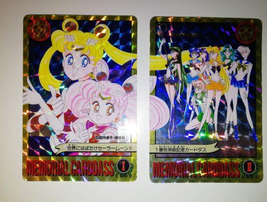 Réception : Memorial Carddass Sailor Moon